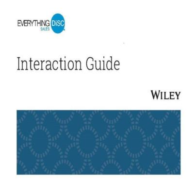 Everything DiSC® Sales Interaction Guides - 25 pack