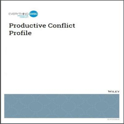 Everything DiSC® Productive Conflict Report