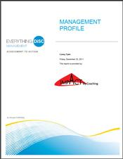 Everything DiSC® Management Report